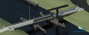 Pas in november besluit over fietsbrug Dokkum