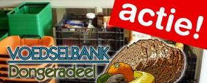 Actie voor voedselbank groot succes