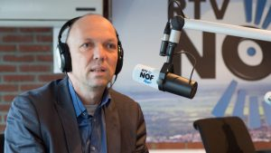 Te gast bij Weekend Nieuwsshow RTV NOF