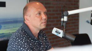 Lijsttrekker Jouke Douwe de Vries te gast bij RTV NOF