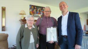 Echtpaar Wiegersma-Hietkamp 60 jaar getrouwd