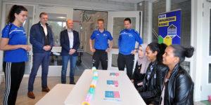 Feestelijke afsluiting 'Beweegproject Nieuwkomers'