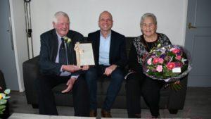 Echtpaar Joustra 60 jaar getrouwd