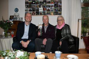 Echtpaar Couperus uit Kollumerzwaag 60 jaar getrouwd